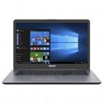 "ASUS A705U, 17"", SSD 256GB, 8GB RAM, i3-6006U, 2.0GHZ, 1920x1080, Intel HD 520 Win 10"